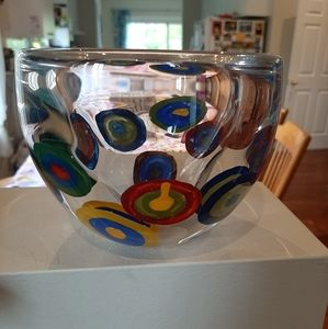 Very cool mod heavy glass bowl